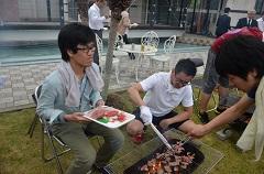 201505本社BBQ2.JPG